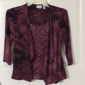 Kim Rogers petite blouse.
